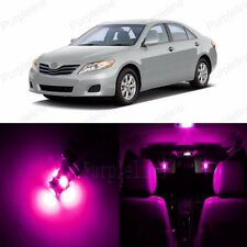 12 x Ultra Pink LED Interior Lights Kit For 2007 - 2011 Toyota Camry + PRY TOOL