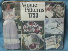 SEWING PATTERN-APRON-PILLOWS-SACHETS-HANGERS & CLOTH BAGS-UNCUT