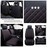 Car Front + Rear 5-Seat Covers Protector Cushion For Four Seasons Wear Resistant