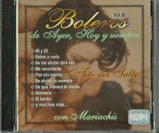 Boleros De Ayer Hoy Y Siempre  Volume 3 Latin Music CD New