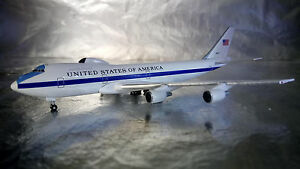 * Herpa 529266-001 U.S Air Force Boeing E-4B Nightwatch Advanced Airborne 1:500