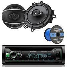 "DEH-S6200BT Car AUX CD Bluetooth Radio,6.5"" Pioneer 3-Way Speakers, Speaker Wire"