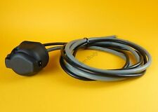 FREE P&P* Pre-wired 13 Pin Socket with 2 x 7 Core Cable 12N 12S for Caravans #TR