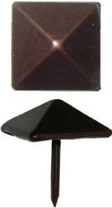 12 Each Antique Copper  Square Head Decorative Nail Clavo   AC3524