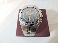 Seiko Arctura Kinetic Chronographic Watch  Thames hospice 117R1