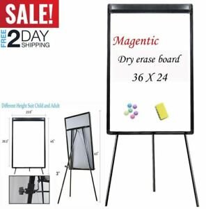 Magnetic Dry Erase Board Tripod Easel Board Easy to Wipe Meeting Room Resturant