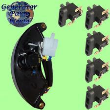 Champion AVR & 5 Carbon Brush for 40023 40046 40050 41030 Voltage Regulator