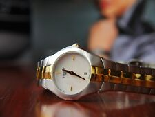 TISSOT T-Round GOLD_PLATED Watch **RRP £315.00**
