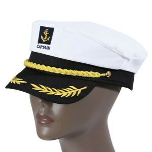 Yacht Military Sailor Captain Navy Marine Admiral adjustable Cap for Men & Women