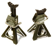 C26410GUN Integy Model Model 3 Ton Jack Stands(2)for 1/10, 1/8 Scale & Crawler