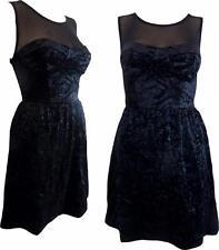 Unbranded Party Mini Velvet Dresses for Women