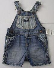Oshkosh Denim Shortalls Size 18 Months NWT Retail $32