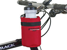 Bushwhacker Shasta Red Bike Water Bottle Holder Bicycle Cage Cycling Hydration
