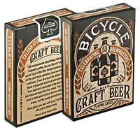 1 Deck Bicycle Craft Beer Standard Poker Playing Cards Brand New  Deck