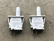 2x Maytag Washer Sensor Switch Push Switch W10131838 Dryer Tested