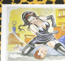 Eric Stanton fetiche culto erotismo postal BDSM dibujo domina faceslapping