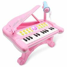 Toy Piano For Toddler Girls Musical Learning Instrument Gifts 3+ Year Old New US