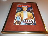 Framed & Matted 1997-98 Hoop Guide Magazine with Larry Bird on the front cover