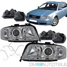 SET Audi A6 4B C5 Scheinwerfer Links Rechts H7/H7 Klarglas 01-05 DE- XENON Linse