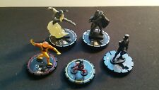 HEROCLIX LOT OF 5 PRIME MANO LEI-KUNG GENERAL ZOD SHADE NEW ANT MAN NO CARDS