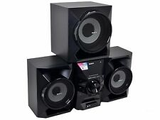 Sony MHC-ECL99BT Hi-Fi Home Audio System Bluetooth 700W Shelf USB Input FM Radio
