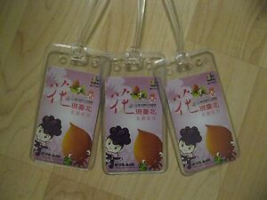 Eva Air Luggage Tags - 2010 Taipei Flora Exposition Playing Card Name Tag Set 3