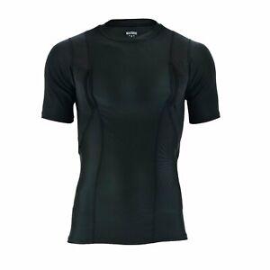 Mafoose Men's Short Sleeve Concealed Carry Gun Holster Shirt sizes Medium to 4XL