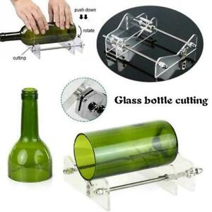 Glass Bottle Cutter Kit Beer Wine Jar DIY Cutting Machine Tool Recycle US O6R8