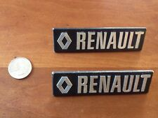 Renault emblem logo badge 104x29mm Very Good Used Condition