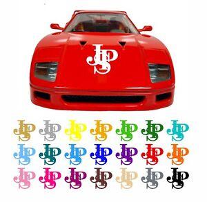 JPS John Player Special Style Car / Van Bonnet / Window Decal Sticker 20 Colours