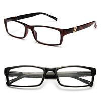 Reading Glasses Rectangular Frame Designer Temple Simple Style