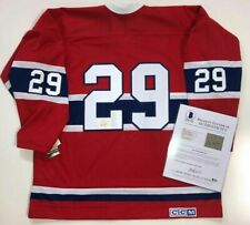 KEN DRYDEN SIGNED MONTREAL CANADIENS JERSEY BECKETT LETTER OF AUTHENTICITY