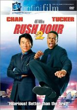 Brand New DVD Rush Hour 2 Jackie Chan Chris Tucker John Lone Zhang Ziyi