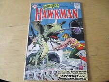 BRAVE AND THE BOLD #34 (1ST SILVER AGE HAWKMAN) KEY DC ISSUE: VG/FINE!