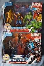 Marvel universe X-force & Classic Avengers lot