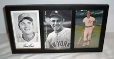 """Johnny Bench, Bill Zuber, & Sal Bando Auto-Signed 4""""x6"""" Framed Photos From 1977"""