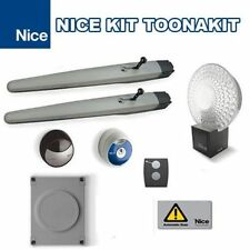 TOONA4024KCE NICE AUTOMAZIONE CANCELLO KIT TOONAKIT CANCELLI BATTENTE ANTE 3M
