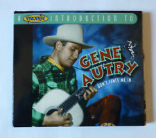 A PROPER INTRODUCTION TO GENE AUTRY - DON'T FENCE ME IN 2004 CD ALBUM - G.C.