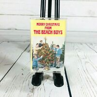 Merry Christmas From The Beach Boys Audio Cassette Tape 1964 Surf Rock Xmas