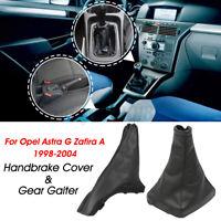 Leva Del Cambio Cuffia + Freno Mano Copertura Per Opel Astra G Zafira A F35 F48