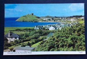 Criccieth from the Portmadoc road Dennis Postcard C.3003, unused