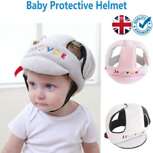 Baby Cap Infant Anti-collision Hat Safety Helmet Comfortable Head Protection UK