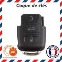 Clé Coque 3 Boutons VW Volkswagen Golf 4 5 Jetta Bora Passat Polo Sharan Touran
