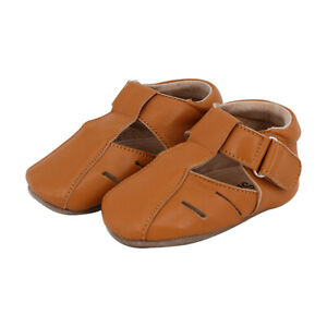 NEW SKEANIE Baby & Toddler Leather Dakota Shoes in Tan. RRP $54.95