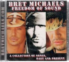 Bret Michaels: Freedom Of Sound, 9 Track w/ 9 Bonus Tracks New & Sealed CD