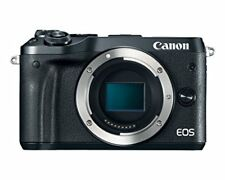 "Canon EOS M6 Body 24.2mp 3"" DSLR Digital Camera Brand New Cod Agsbeagle"