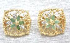 Diamant-Clips echte-Ohrschmuck für Damen