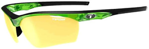 Tifosi Vero Sunglasses Crystal Neon Green, Clarion Yellow/AC Red/Clear