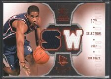 SEAN WILLIAMS 2007/08 SP ROOKIE THREADS 2 COLOR GAME USED JERSEY NJ NETS SP $12