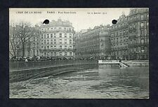 View of Pont Saint-Lous, Paris During the 1910 Flood.
